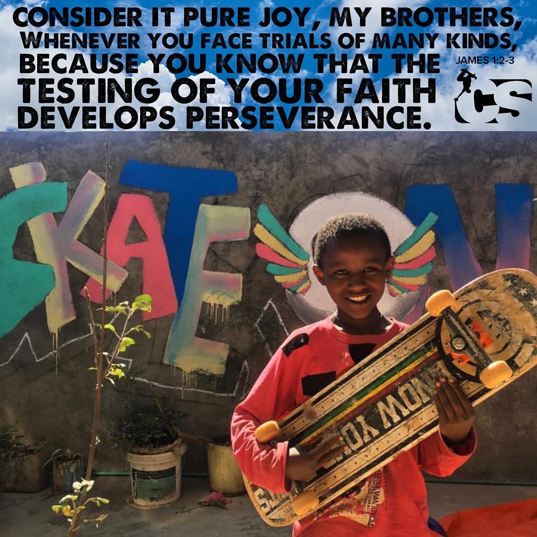 Daily Skate Scripture Megabi Africa Skateboarding