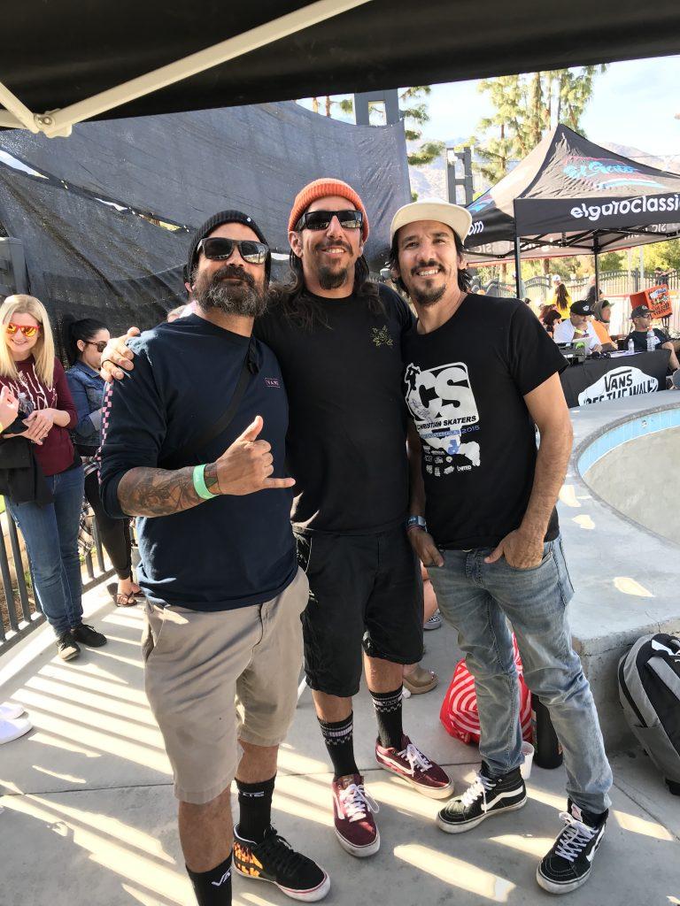Uli Frallicciardi, Buck Chavarria, and Tony Del Rio headed to the El Gato Classic to represent Christian Skaters
